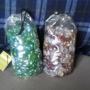 !!SALE!!$15 Glass Flat Gems Vase Fillers